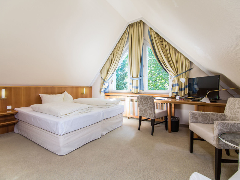 Business Doppelzimmer (ab 110 €)